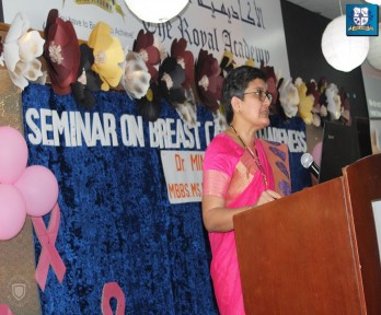 Breast Cancer Awareness Campaign — with Al-RUKN medical center