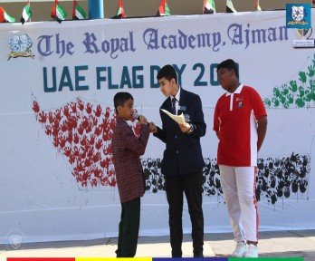 Happy Flag Day @ The Royal Academy, Ajman