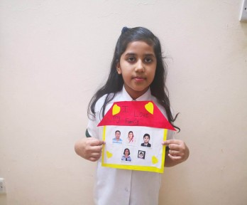 The students of The Royal Academy, Ajman celebrate the International day of families