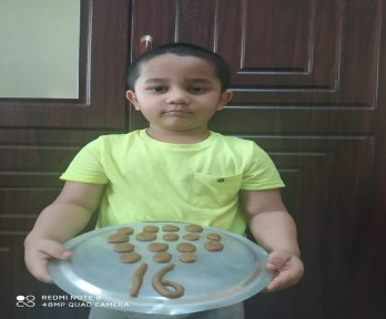 Making of Cookies with Clay