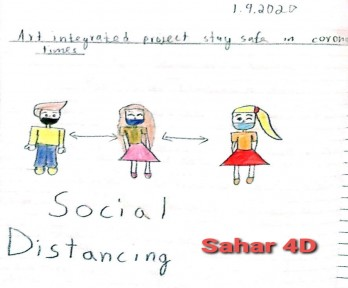 Safety : Art Integrated Project