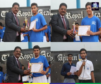 TRAC appreciates the U-19 football stars of CBSE Cluster