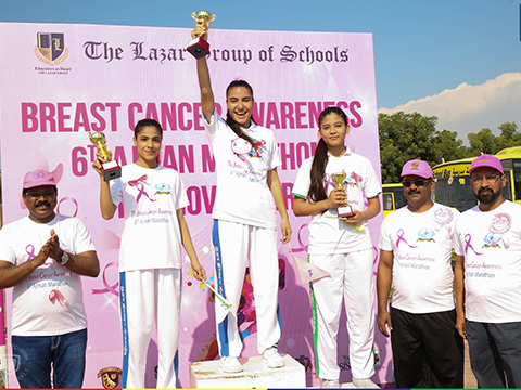 Breast Cancer Awareness - 6th Ajman Marathon