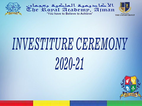 The Royal Academy, Ajman Investiture Ceremony 2020-21